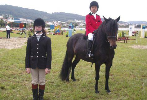 Asociación Pura Raza Cabalo Galego - salto