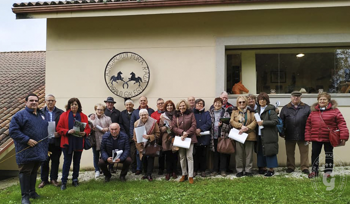 Asociación Pura Raza Cabalo Galego - Visitas al centro